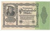 50000 Mark 1922 Deutsches Reich, Ro.79d Firmendruck,KN braun,FZ:M, leic... 5,99 EUR  zzgl. 1,80 EUR Versand