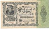 50000 Mark 1922 Deutsches Reich, Ro.79d Firmendruck,KN braun,FZ:N, gebr... 4,99 EUR  zzgl. 1,80 EUR Versand