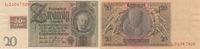 20 Reichsmark 1929 mit Kupon 1948 Deutschland, Sowjetische Besatzungszo... 39,99 EUR  zzgl. 4,00 EUR Versand