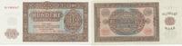 100 Mark 1955 Deutschland, DDR, Ro.353b Austauschnote FZ:YA Kassenfrisc... 29,99 EUR  Excl. 4,00 EUR Verzending