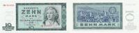 10 Mark 1964 Deutschland, DDR, Ro.355b Austauschnote FZ:ZQ Kassenfrisch I  29,99 EUR  Excl. 4,00 EUR Verzending