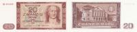 20 Mark 1964 Deutschland, DDR, Ro.356b Austauschnote FZ:ZU  fast Kassen... 34,99 EUR  Excl. 7,00 EUR Verzending
