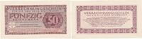50 Reichsmark 1944 Deutschland,Drittes Reich, Ro.514 Verrechnungsschein... 29,99 EUR  Excl. 4,00 EUR Verzending