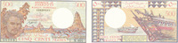 500 Francs (1988) Dschibuti Sammlerbanknote, fast Kassenfrisch I-  29,99 EUR  Excl. 4,00 EUR Verzending