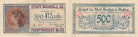 500 Mark 1922 Deutsches Reich, Sachsen, Buchholz,Stadt, gebraucht III  29,99 EUR  Excl. 4,00 EUR Verzending