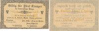 5 Kreuzer 1849 Österreich,Böhmen, Braunau, Joseph Fischer, Blanko, fast... 39,99 EUR  Excl. 7,00 EUR Verzending