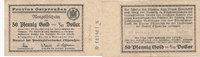 50 Pfennig Gold, 1923 Deutsches Reich, Ostpreussen, Königsberg, Provinz... 29,99 EUR  Excl. 4,00 EUR Verzending