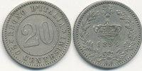 20 Centesimi 1894 KB Italien  ss-vz,  9,99 EUR