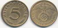 5 Reichspfennig 1936 Mz.G Deutsches Reich, Drittes Reich J.363 ss,  79,99 EUR  zzgl. 4,00 EUR Versand