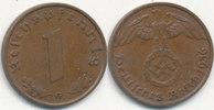 1 Reichspfennig 1936 Mz.G Deutsches Reich, Drittes Reich  vz,  59,99 EUR  Excl. 7,00 EUR Verzending