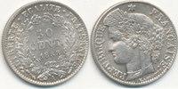 50 Centimes 1888 Mz.A Frankreich,  st,  29,99 EUR  Excl. 4,00 EUR Verzending