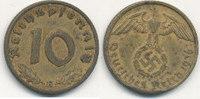 10 Reichspfennig 1936 Mz.E Deutsches Reich, Drittes Reich  ss,ungereini... 129,99 EUR  Excl. 10,00 EUR Verzending