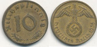10 Reichspfennig 1936 Mz.A Deutsches Reich, Drittes Reich  ss,ungereini... 39,99 EUR  Excl. 7,00 EUR Verzending
