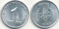 1 Pfennig 1949 Mz.E Deutschland,DDR, J.1501 vz+,  39,99 EUR  Excl. 7,00 EUR Verzending