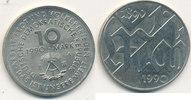 10 Mark, 1990 Deutschland,DDR, J.1637 1.Mai, vz+,  3,99 EUR  zzgl. 1,80 EUR Versand