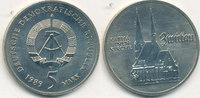 5 Mark, 1989 Deutschland,DDR, J.1626 Katharinen Kirche Zwickau, vz-st,  4,99 EUR  zzgl. 1,80 EUR Versand