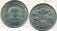 5 Mark, 1986 Deutschland,DDR, J.1610 Neues Palais Potsdam, vz+.  3,99 EUR  zzgl. 1,80 EUR Versand