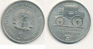 5 Mark 1990 Deutschland,DDR, J.1631 500 Jahre Postwesen, vz+,  3,99 EUR  zzgl. 1,80 EUR Versand
