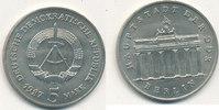 5 Mark, 1987 Deutschland,DDR, J.1536 Brandenburger Tor, vz-st,  7,99 EUR  zzgl. 1,80 EUR Versand