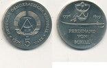 5 Mark, 1976 Deutschland,DDR, J.1559 Ferdinand von Schill, vz-st,  19,99 EUR  zzgl. 1,80 EUR Versand