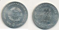5 Mark, 1975 Deutschland,DDR, J.1558 Jahr der Frau vz+.  6,99 EUR  plus 4,00 EUR verzending