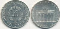 5 Mark, 1981 Deutschland,DDR, J.1536 Brandenburger Tor, vz-st,  14,99 EUR  zzgl. 1,80 EUR Versand