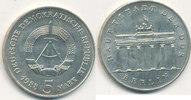 5 Mark, 1988 Deutschland,DDR, J.1536 Brandenburger Tor, vz-st,  19,99 EUR  zzgl. 1,80 EUR Versand