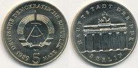 5 Mark, 1989 Deutschland,DDR, J.1536 Brandenburger Tor, st,  29,99 EUR  zzgl. 1,80 EUR Versand