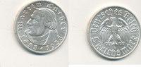 5 Reichsmark 1933 Mz.E Deutsches Reich,Drittes Reich, J.353 Martin Luth... 189,99 EUR  zzgl. 7,00 EUR Versand