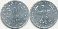 500 Mark 1923 Mz.F Deutsches Reich,Weimarer Republik, J.305 vz.-st.  2,99 EUR  zzgl. 1,80 EUR Versand