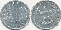 500 Mark 1923 Mz.F Deutsches Reich,Weimarer Republik, J.305 vz.  1,99 EUR  zzgl. 1,80 EUR Versand