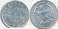500 Mark 1923 Mz.G Deutsches Reich,Weimarer Republik, J.305 vz.  2,99 EUR  zzgl. 1,80 EUR Versand