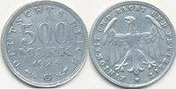 500 Mark 1923 Mz.G Deutsches Reich,Weimarer Republik, J.305 ss.  0,99 EUR  zzgl. 1,80 EUR Versand