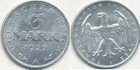 3 Mark 1922 Mz.A Deutsches Reich,Weimarer Republik, J.302 mit Umschrift... 2,99 EUR  zzgl. 1,80 EUR Versand