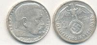 2 Reichsmark 1936 Mz.D Deutsches Reich,Drittes Reich, J.366 Paul von Hi... 7,99 EUR  zzgl. 1,80 EUR Versand
