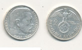 2 Reichsmark 1938 Mz.F Deutsches Reich,Drittes Reich, J.366 Paul von Hi... 4,99 EUR  zzgl. 1,80 EUR Versand