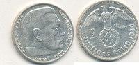2 Reichsmark 1939 Mz.G Deutsches Reich,Drittes Reich, J.366 Paul von Hi... 5,99 EUR  zzgl. 1,80 EUR Versand