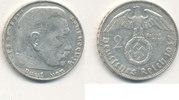 2 Reichsmark 1937 Mz.J Deutsches Reich,Drittes Reich, J.366 Paul von Hi... 5,99 EUR  zzgl. 1,80 EUR Versand