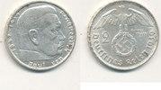 2 Reichsmark 1939 Mz.B Deutsches Reich,Drittes Reich, J.366 Paul von Hi... 5,99 EUR  zzgl. 1,80 EUR Versand