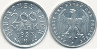 200 Mark 1923 Mz.G Deutsches Reich,Weimarer Republik, J.304 vz-st.Präge... 0,99 EUR  zzgl. 1,80 EUR Versand