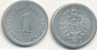 1 Pfennig 1917 Mz.E Deutsches Reich,Kaiserreich, J.300 Alu, vz+,  1,99 EUR  zzgl. 1,80 EUR Versand