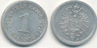 1 Pfennig 1917 Mz.E Deutsches Reich,Kaiserreich, J.300 Alu, vz+.  1,99 EUR  zzgl. 1,80 EUR Versand