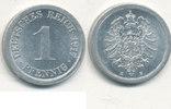 1 Pfennig 1917 Mz.E Deutsches Reich,Kaiserreich, J.300 Alu, vz-st,  3,99 EUR  zzgl. 1,80 EUR Versand
