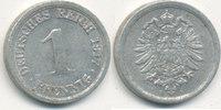 1 Pfennig 1917 Mz.F Deutsches Reich,Kaiserreich, J.300 Alu, ss,  0,99 EUR  zzgl. 1,80 EUR Versand