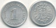 1 Pfennig 1917 Mz.F Deutsches Reich,Kaiserreich, J.300 Alu, vz,  1,99 EUR  zzgl. 1,80 EUR Versand