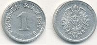 1 Pfennig 1917 Mz.F Deutsches Reich,Kaiserreich, J.300 Alu, vz-st, Präg... 9,99 EUR  zzgl. 1,80 EUR Versand