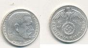5 Reichsmark 1937 Mz.G Deutsches Reich,Drittes Reich, J.367 Paul von Hi... 13,99 EUR  plus 4,00 EUR verzending