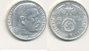 5 Reichsmark 1936 Mz.A Deutsches Reich,Drittes Reich, J.367 Paul von Hi... 11,99 EUR  plus 4,00 EUR verzending