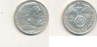 5 Reichsmark 1939 Mz.B Deutsches Reich,Drittes Reich, J.367 Paul von Hi... 13,99 EUR  zzgl. 1,80 EUR Versand