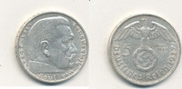 5 Reichsmark 1937 Mz.A Deutsches Reich,Drittes Reich, J.367 Paul von Hi... 11,99 EUR  plus 4,00 EUR verzending